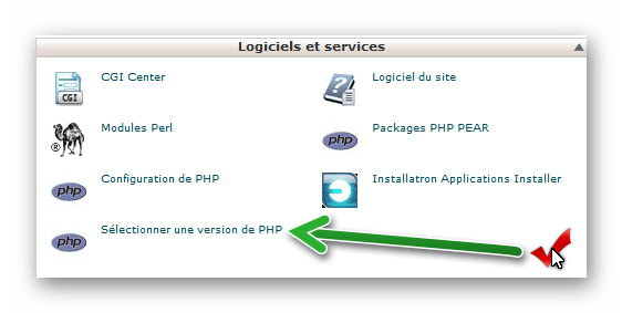cpanel php 1